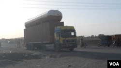FILE - A truck on Herat-Kandahar highway. (Photo: K. Noorzai/VOA)