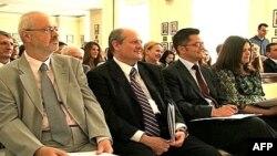 Ministar inostranih poslova Vuk Jeremić na skupu o budućnosti srpske diplomatije