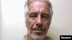 Archivo - El desaparecido financiero Jeffrey Epstein en una foto del registro de delincuentes sexuales de la División Estatal de los Servicios de Justicia Criminal de Nueva York. Marzo 28 de 2017.