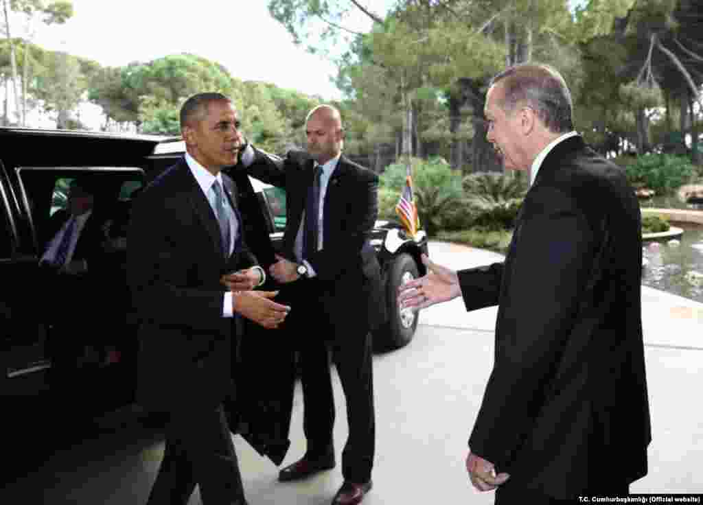 Obama and Erdogan met at G20 Summit