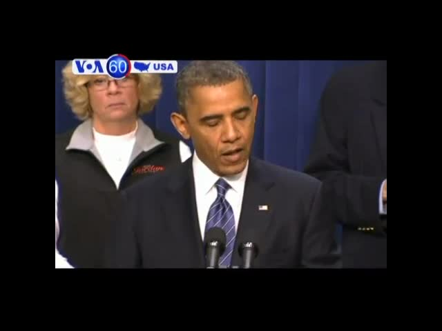 "President Obama believes Washington can reach a ""framework"" on a debt-cutting deal- VOA60 America"
