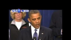 "President Obama believes Washington can reach a ""framework"" on a debt-cutting deal- VOA60 America"