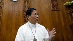 ေသနတ္ေတြေဘးခ်ၿပီး လူ႔အသက္ကယ္ၾကဖို႔ Cardinal Charles Bo ေမတၱာရပ္ခံ