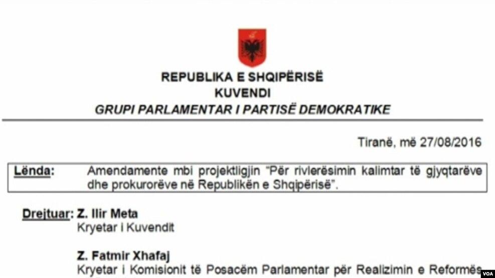 Procesi i vlerësimit, opozita të tjera amendamente
