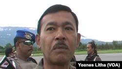 Kapolda Sulawesi Tengah, Brigjen Idham Azis (Foto: VOA/Yoanes Litha)