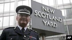 剛辭職得倫敦警察總監保羅‧史蒂文森(資料圖片)