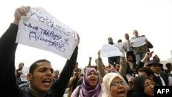 Egjiptianët protestojnë me kërkesën për paga dhe kushte më të mira