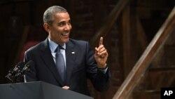 Obama aprovechó la oportunidad para burlarse de los republicanos.