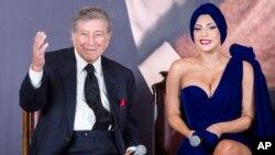 Đây không phải là lần đầu tiên Lady Gaga và ca sĩ lừng danh Tony Bennett cùng làm nhạc.