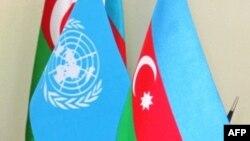 BMT və Azərbaycan bayraqları