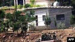 Sirijska vojska u blizini granice sa Libanom