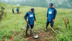 U.S. Demining Efforts in Colombia