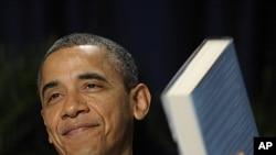 국가조찬기도회에 참석한 오바마 미국 대통령