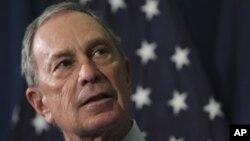 Thị trưởng thành phố New York Michael Bloomberg.