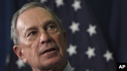 Magajin Garin New York Michael Bloomberg.