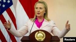 Госсекретарь США Хиллари Клинтон. Джакарта. Индонезия. 3 сентября 2012 г.