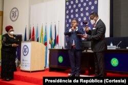 Filipe Nyusi e Lazarus Chakwera
