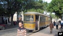تجلیل مردم مصر از استعفای مبارک