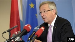 Lüksemburg Başbakanı Jean-Claude Juncker