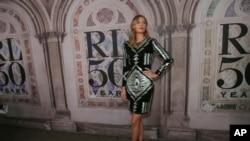 Sharapova es además un referente de la moda.