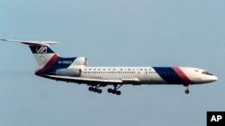 Un Tupolev 154 russe