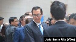 Министр финансов Стивен Мнучин (архивное фото)