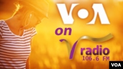 Chyntia Nixon - VOA on V Radio