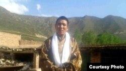 Ông Dhondup Wangchen sau khi ra khỏi tù ở Trung Quốc 5/6/14