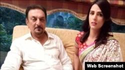 ٹی وی ایکٹر عابد علی کے ساتھ