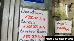 La crisis económica en Venezuela ha afectado las tradiciones de Semana Santa.