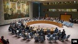 Le Conseil de sécurité de l'ONU le 10 mars 2020.