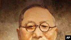 백범 김구 선생의 초상화.