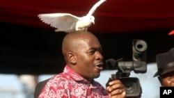 Mutungamiri weMDC, VaNelson Chamisa, vari kukurudzira kuti vana veZimbabwe vanamate pamwe nekutsanya kwemazuva manomwe.