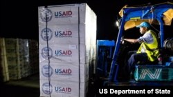 USAID airlifted 47 metric tons of relief supplies to the Bahamas on September 4 to be distributed to communities in need.