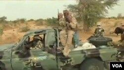 Des soldats tchadiens, 19 mars 2015