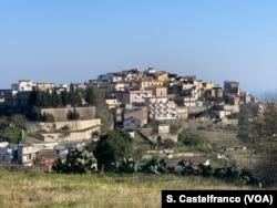 Stignano village, Calabria.