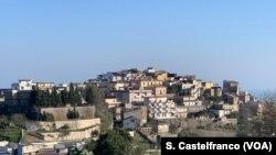 ភូមិ Stignano តំបន់ Calabria ប្រទេសអ៊ីតាលី