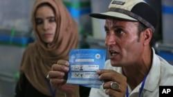 آرشیو: روند بازنگری آرای دور دوم انتخابات ریاست جمهوری افغانستان