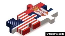 Zastave SAD i Srbije (Grafika: Sajt Ambasade SAD u Srbiji)