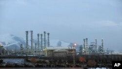 Комплекс, в котором располагается тяжеловодный ядерный реактор, закрытый Тегераном в рамках «ядерной сделки», Арак, Иран, 15 января 2011 года
