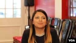 Sophiaya Chacon-Hyder, Thai American National Internship Program, 2016.
