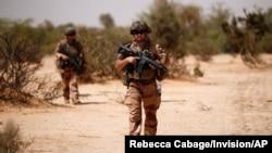 Tentara Perancis saat melakukan operasi di Mali (foto: dok).