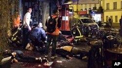 در حملات دیروز در شهر پاریس، حد اقل ١٢٧ نفر کشته و حدود دوصد تن دیگر مجروح شدند