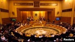 """آرشیف: موضوع اصلی این جلسۀ اضطراری، """"مداخلۀ ایران"""" در امور کشور های عربی خوانده شده است"""