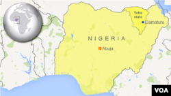 Damaturu, di negara bagian Yobe, Nigeria.