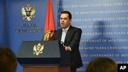 Potpredjednik Vlade Crne Gore Zoran Pažin (Foto: AP)