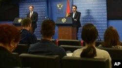 Potpredsednik vlade Zoran Pažin i šef delegacije EU u Podgorici Aivo Orav (foto: Vlada Crne Gore)