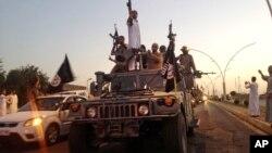 Tentara ISIS di Mosul.
