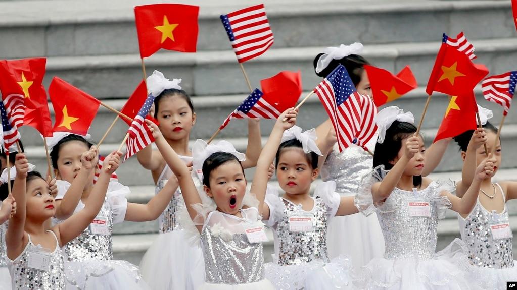 Hà Nội từng chào đón Tổng thống Mỹ Donald Trump, 12/11/2017