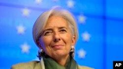 Christine Lagarde, pimpinan Dana Moneter Internasional (IMF) mengatakan persetujuan dana talangan bagi Siprus merupakan rencana menyeluruh dan terpercaya untuk menghadapi tantangan ekonomi megara tersebut (Foto: dok).